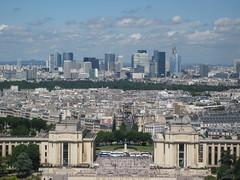 Vue sur le Trocadéro