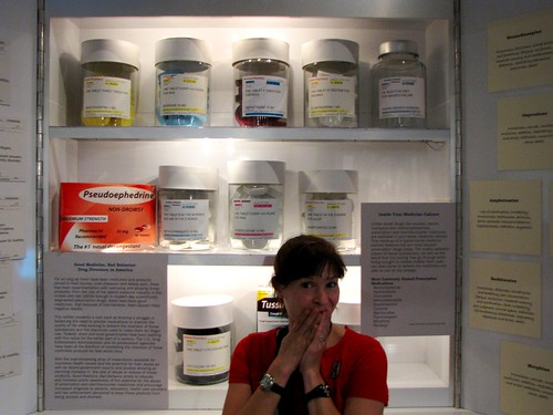 Giant medicine cabinet