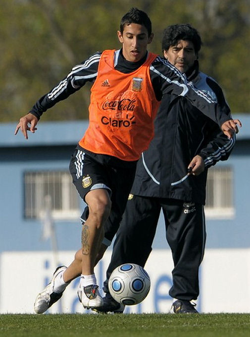 Pictures of Angel di Maria