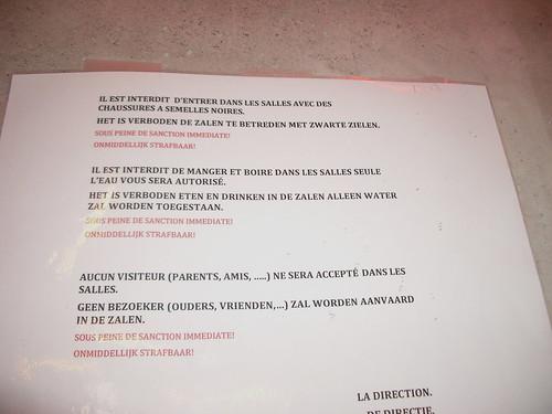 13/06 - ondertussen, in de sporthal van molenbeek