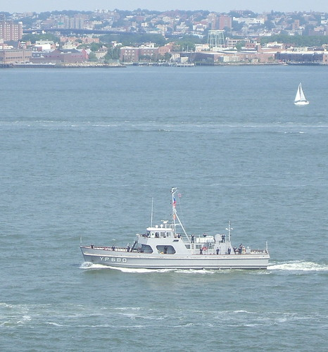mystery grey boat