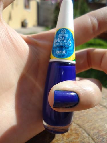 impala brasileirinha azul