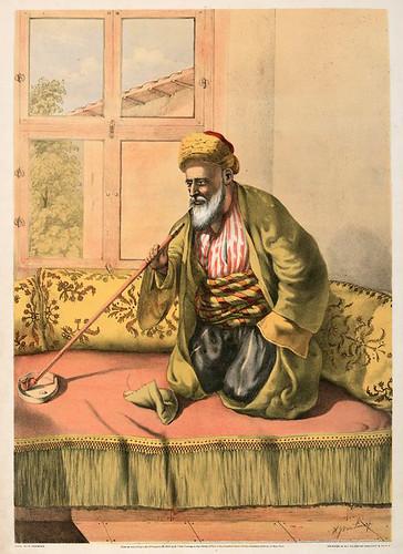 002-Efendi turco-The oriental álbum 1862- J.H. Van Lennep