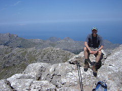 On the Massanella summit