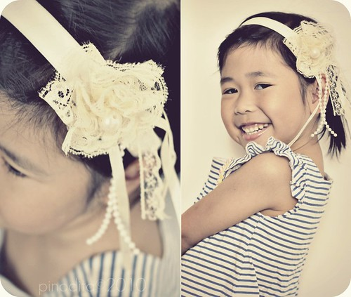 DIY cute & romantic hairband