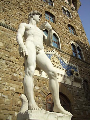 David, Piazza della Signoria, Florencia, Italy