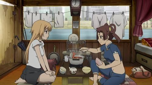 Maria and Yun Yun
