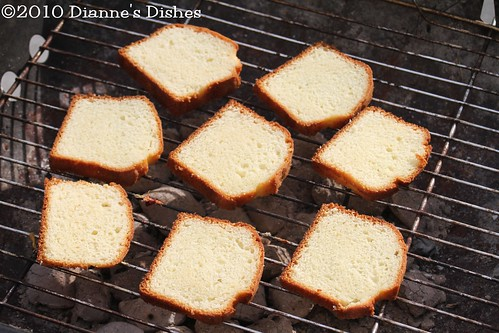 Pound Cake Grilling