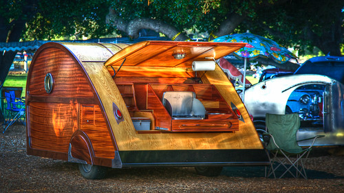 Teardrop Trailer (Single Image HDR)