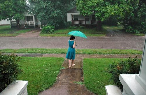 raining pouring