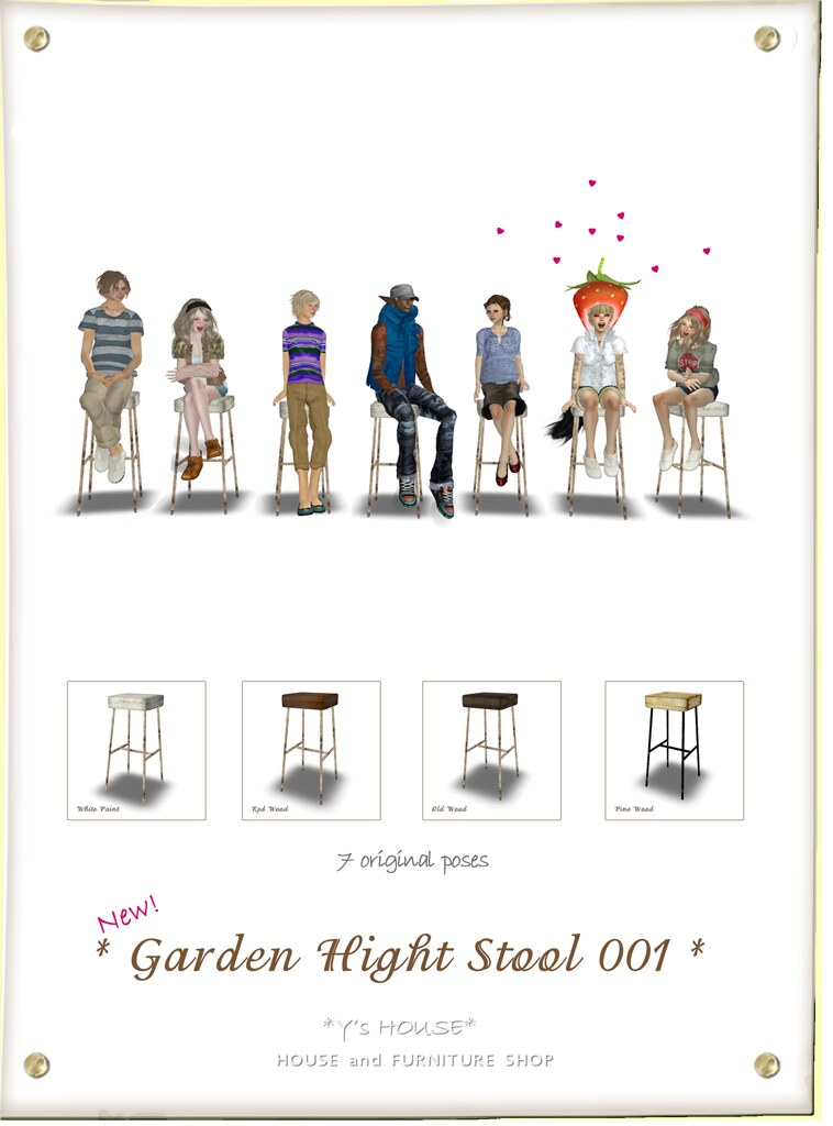 Garden High Stool_pop