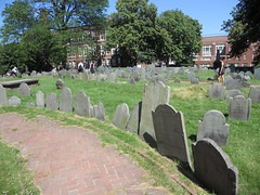 Cemetary in Boston