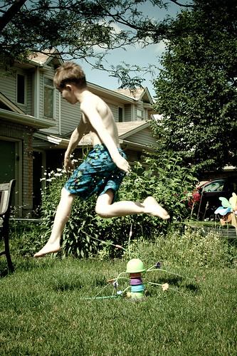486b:1000 Sprinkler Jump!