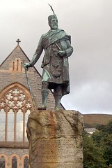 Statue of Donald Cameron of Lochiel