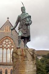 Statue of Donald Cameron of Lochiel