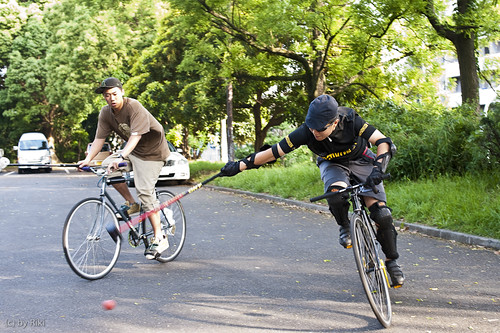bike polo workshop for biginners