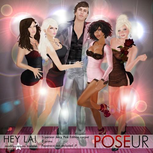 POSEUR - Hey LA! (Pink)