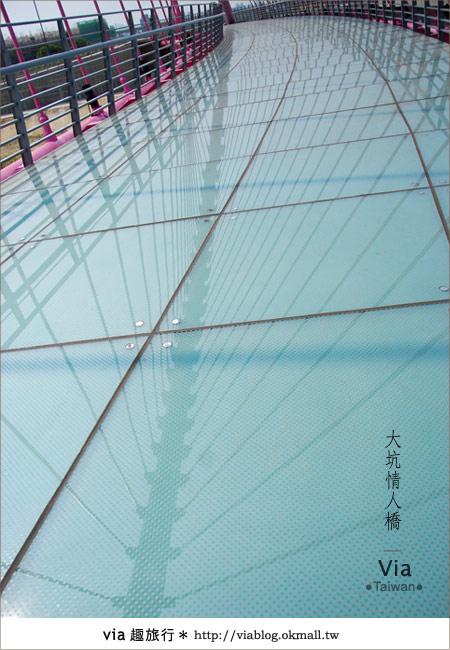 【大坑情人橋】新的台中約會景點~浪漫粉紅色情人橋14