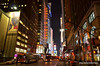 City lights (Rafakoy) Tags: city nyc newyorkcity windows light people signs ny newyork color colour window colors sign skyline night digital buildings dark advertising lights photo nikon cityscape colours with image photos manhattan ad perspective taken images pointofview sample late nikkor nite arechitecture builgin d7000 afsnikkor18105mmvr nikond7000
