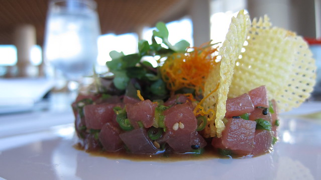 Ahi Tuna Tar-Tar @ Cafe Pacifica Restaurant