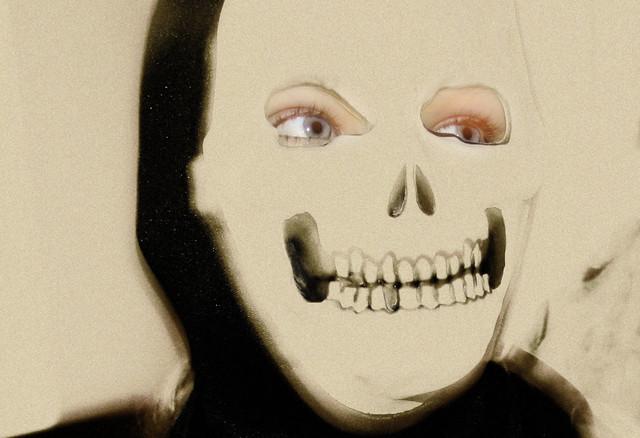Halloween skull mask