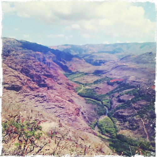 Waimea Canyon, Down Into The Valley, The Winding Serpent