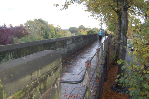 Chester city walls Oct 10 6