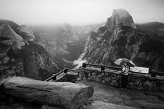 Glacier Point Vista 3 (B&W)