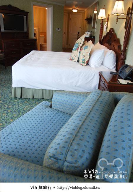 【香港住宿】跟著via玩香港(4)~迪士尼樂園酒店(外觀、房間篇)31