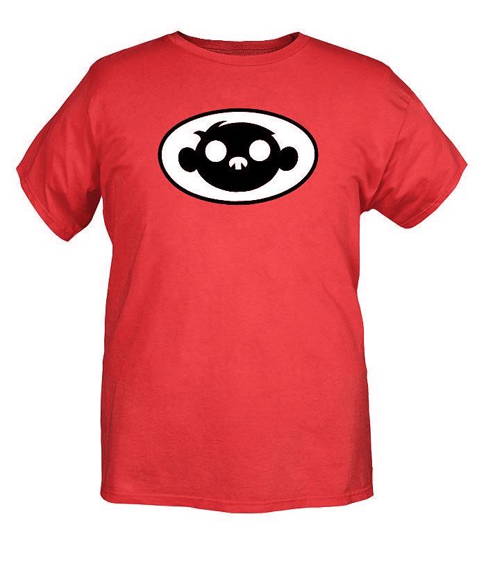 Fanboy And Chum-Chum Red Logo T-Shirt