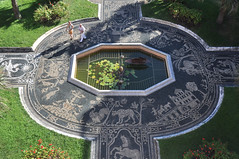 mosaic (Luc Wiltschut) Tags: city summer italy holiday architecture vakantie italia mosaic palace genoa genova zomer palazzo stad reale architectuur itali genua paleis mozak