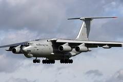 indianarrival11 (MichaelHind) Tags: force indian air indra waddington ilyushin danush il78