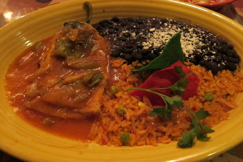 Red Onion: chile relleno