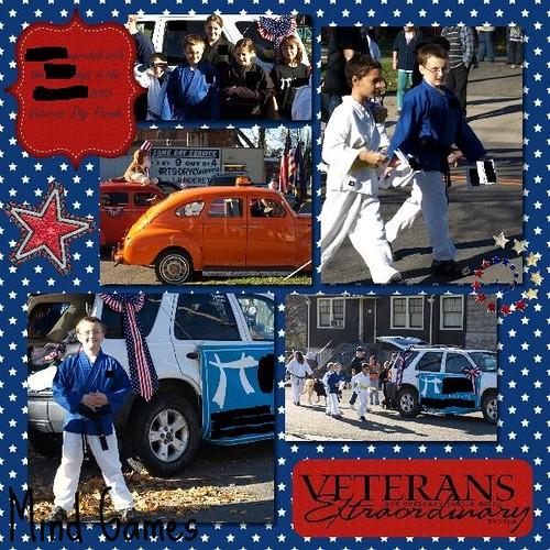 Vet Parade 1 Blanked