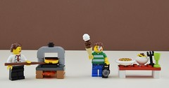 For the holidays, I'm going to... (Alex THELEGOFAN) Tags: lego legography minifigure minifigures minifig minifigurine minifigs minifigurines pizza pizzeria me alex thelegofan spaghetti pasta meal diner vacation holidays ice cream