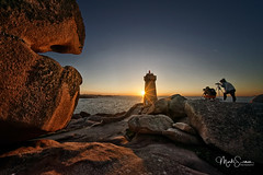 Photo session (marko.erman) Tags: bretagne france ploumenach côte granit rose landscape uwa wide angle sony rocks lighthouse sea sunny perspective pov outside travel voigtländer beautiful pierre mer backlight maen ruz red côtedegranitrose sunset photographers photosession