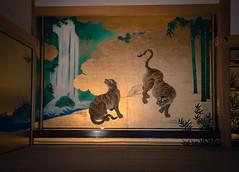 Nagoya Castle Painting (Mule67) Tags: nagoya 2017 castle paintings tigers japan 5photosaday
