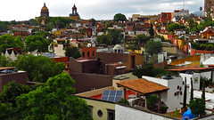 View of San Miguel de Allende (rainy city) Tags: mexico sanmigueldeallende town