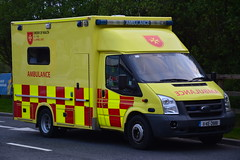 Order of Malta Ireland 2011 Ford Transit Wilker Voyager Ambulance 11KE2888 (Shane Casey CK25) Tags: order malta ireland 2011 ford transit wilker voyager ambulance 11ke2888 oom volunteer medical emergency patient paramedic emt technician blue bluelights lights siren sirens flash flashing van battenberg yellow red