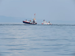 Boats around Caldey Island. Out fishing. (aitch tee) Tags: caldeyisland boats walesuk fishing seaangling