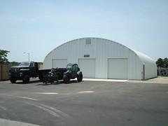 SteelMaster Steel Military Warehouse