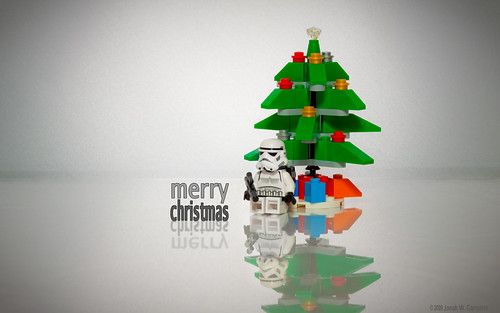merry lego star wars christmas