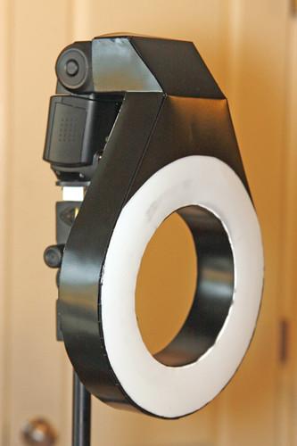 My DIY Ring Flash adapter - FM Forums