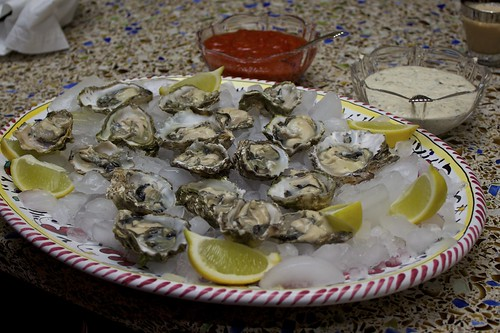 Fish 1 of 7: Oysters on the Half Shell