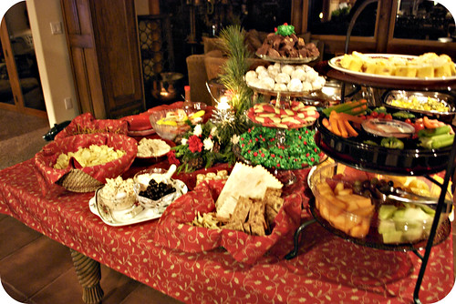 appetizers and sweets