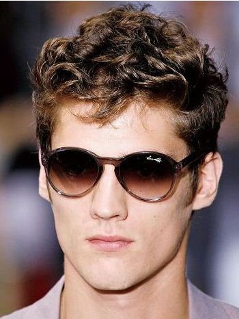 Men's Short Curly Hairstyles