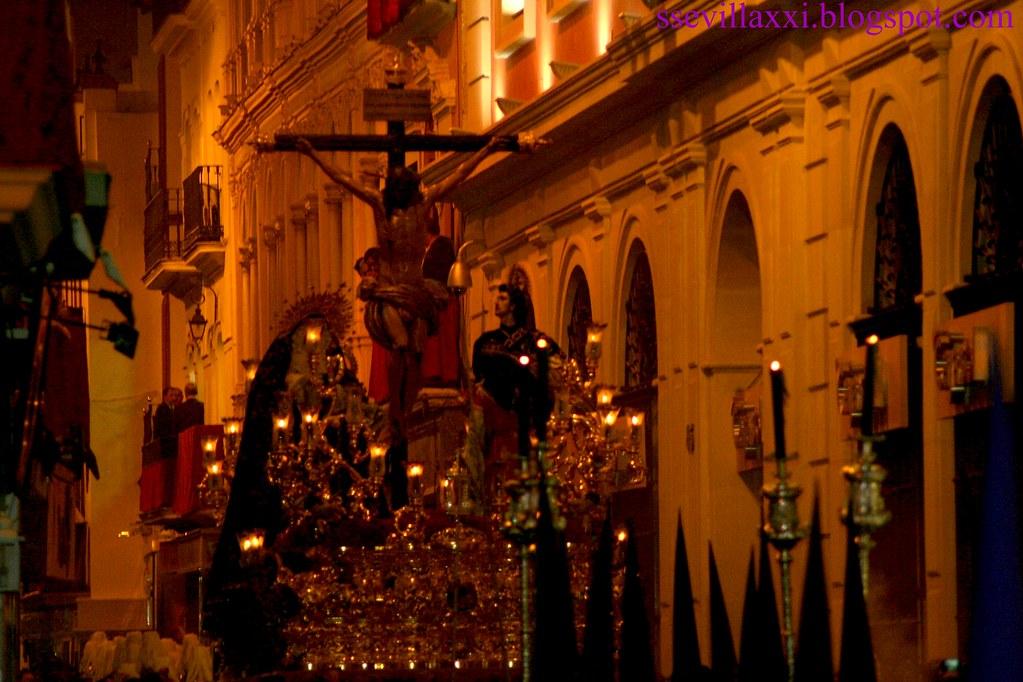 Misterio del Santísimo Cristo de las Aguas y Nuestra Señora del Mayor Dolor. Lunes Santo. 2009
