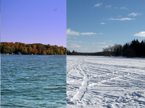 Lake-Winter-Summer