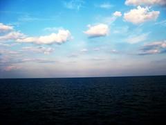 Ocean & Atlantic (lemarti13) Tags: ocean blue sky beach water clouds lyrics peace artistic creative peaceful calm carolinabeach maydayparade oceanandatlantic
