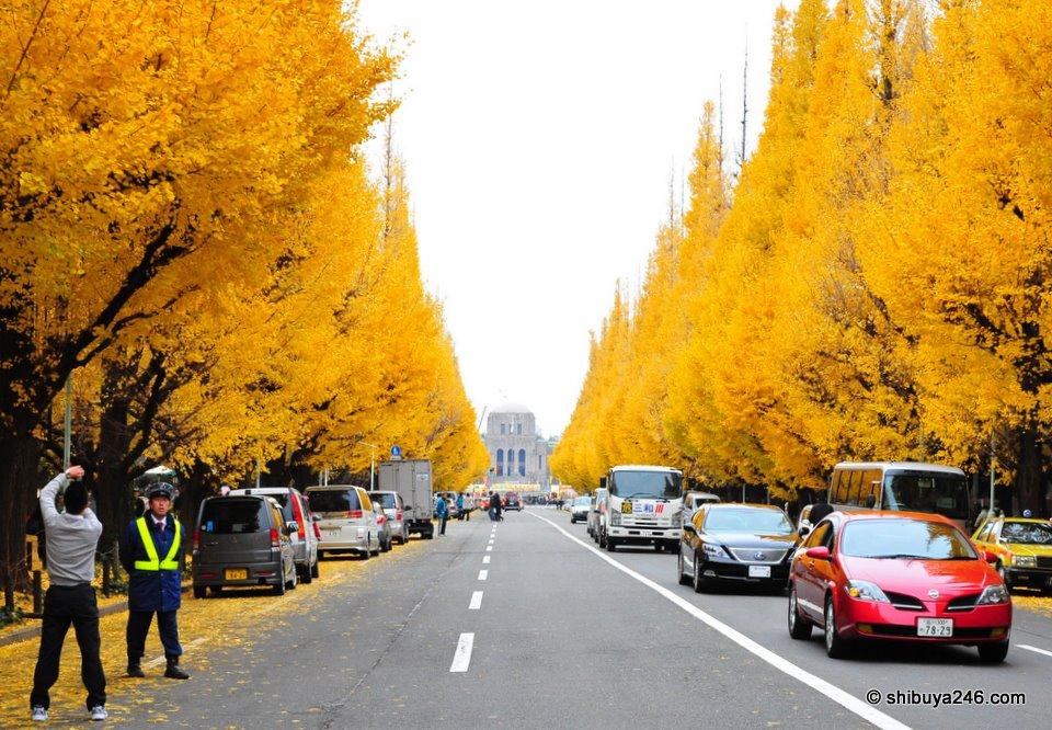 Autumn in Aoyama